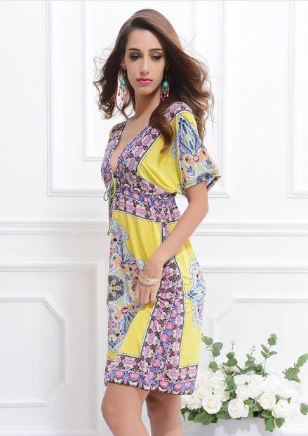 rochita de plaja galbena dominica