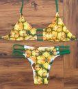 Costum de baie Ananas Reversibil