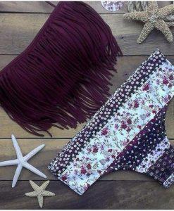 Costume de baie cu franjuri fiona