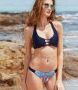 costume de baie reversibil cu imprimeu pe bikini Michelle