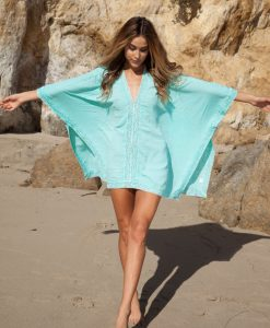 Tunica aqua pentru plaja Camelia