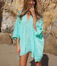 Tunica aqua pentru plaja Camelia1