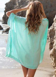 Tunica aqua pentru plaja Camelia2