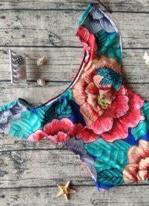 Costume de baie intregi floral Seoul 3