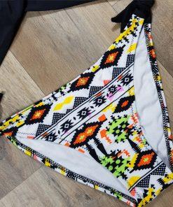Costume de baie doua piese cu slip reglabil Corfu Negru