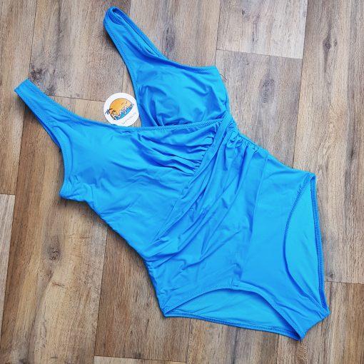 Costum de baie o piesa modelatoare Manila Albastru
