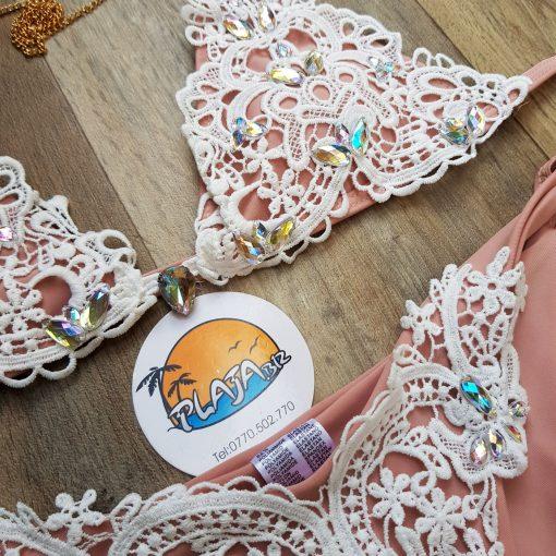 Costum de baie doua piese cu dantela Brazilia
