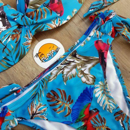 Costum de baie doua piese cu push-up Granada Blue