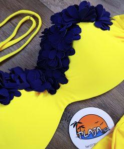 Costume de baie doua piese Mojito Albastru Galben