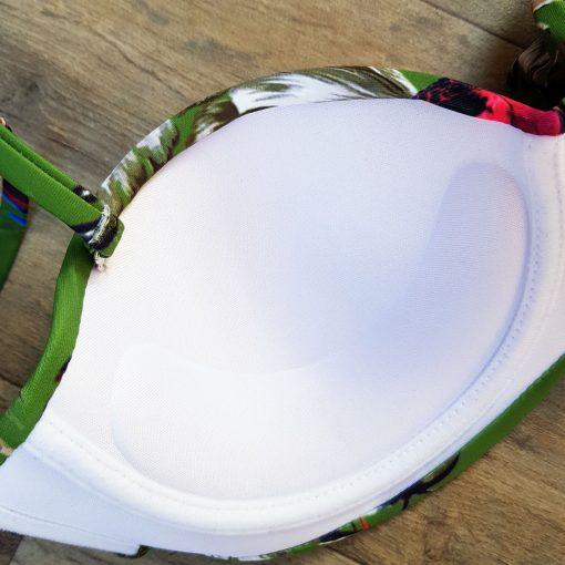 Costume de baie doua piese cu push-up Granada Verde