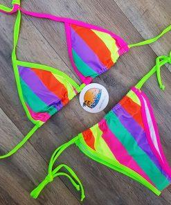 Costum de baie doua piese cu slip brazilian Lefkada