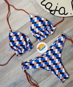 Costume de baie doua piese cu slip brazilian Carola