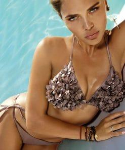 Costum de baie cu slip brazilian si push up Madonna Naro
